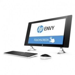 HP 23,8 Pc All in One Envy 24-N000NL Touch Screen Nero, Argento Ricondizionato