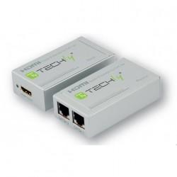 Techly Amplificatore HDMI su cavo CAT56 100 Mt