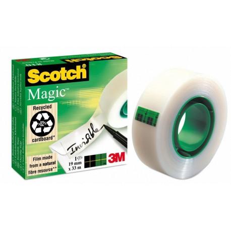 Scotch Magic 810 19mm x 33m 33m Trasparente 1pezzoi cancelleria e nastro adesivo per ufficio 55851