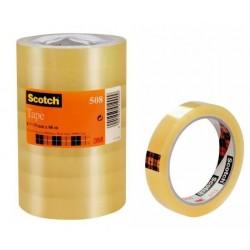 Scotch 5081966 66m Trasparente 8pezzoi cancelleria e nastro adesivo per ufficio 66290