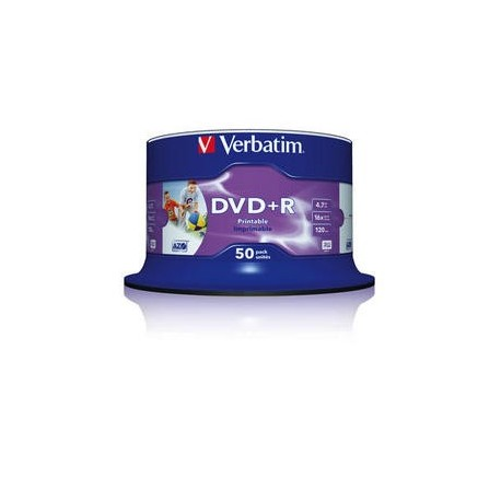 Verbatim DVD R 4.7GB 16x 4.7GB DVD R 50pezzoi 4351250