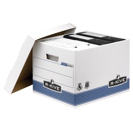 Fellowes 0026101 Blu, Bianco scatola per archivio