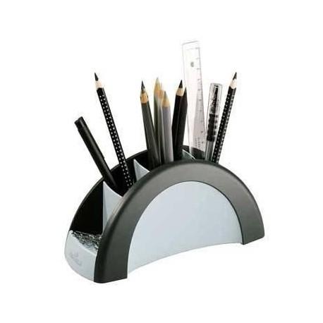 Durable Pen Holder VEGAS Nero, Bianco portapenne 7720 01