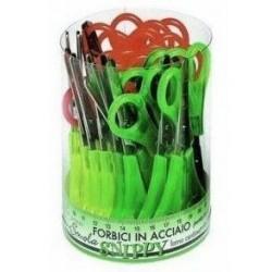 Lebez 137 Verde, Rosso, Giallo forbici da cancelleria