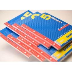 Rambloc Ricambi A5 150 x 210 mm A5 40fogli ricambi per quaderni 90524036S