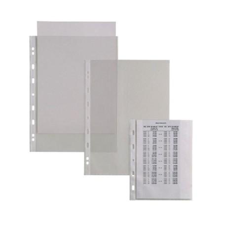 SEI Rota 50 Buste con Foratura Trasparenti Atla 22 x 30 Cm 662212