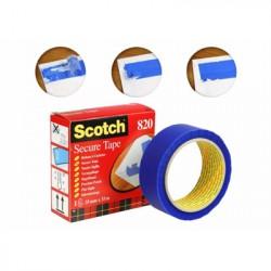 Scotch Rotolo Scotch Adesivo Secure Tape Blu 35 mm x 33 Mt 93007