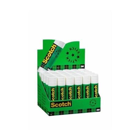 Scotch Espositore 30 Colle Stick Bianche Permanenti 8 g 54626