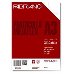 Fabriano Protocollo Miliaflex 200fogli carta da disegno 02310125