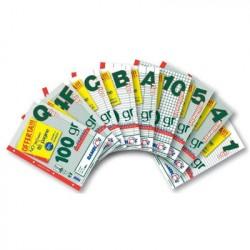 Rambloc Blocco Ricambio 64 Pagine + 16 Pagine con diverse misure e rigature A4 90524318