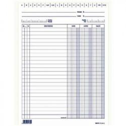 Edipro E3336 100pagine modulo e libro contabile
