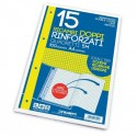 Blasetti 15 Ricambi rinforzati doppi Bianchi A4 Quadretti 5M 15 Fogli 6424