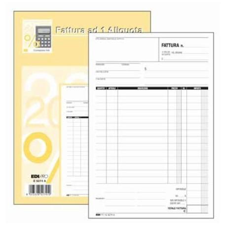Edipro E5274A modulo e libro contabile