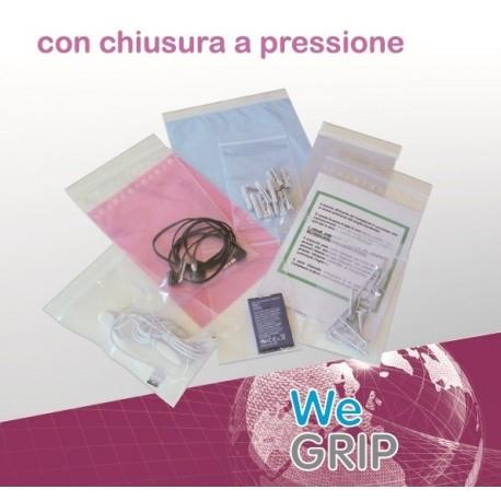 Willchip We GRIP Trasparente 1000pezzoi busta in plastica TG350450