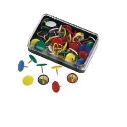 Molho Leone Pins Plastic Cover Blu infilzacarte e spillo da cancelleria 75526