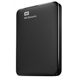 Western Digital WD Elements Portable 1000GB Nero disco rigido esterno WDBUZG0010BBK WESN