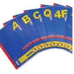 Rambloc Ricambi A4 210 x 297 mm A4 40fogli ricambi per quaderni 90505889S