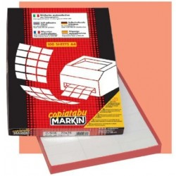 Markin 210A406 Bianco 4400pezzoi etichetta autoadesiva