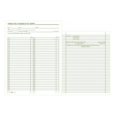 Edipro Minutes of meeting building 100pagine modulo e libro contabile E2529