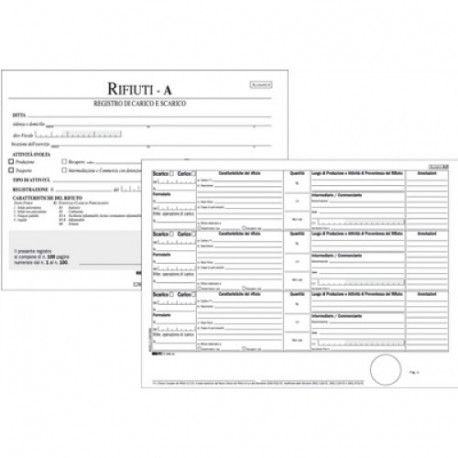 Edipro E2868 100pagine modulo e libro contabile