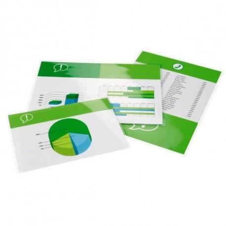 GBC Pouch per plastificazione documenti A4 2x175mic lucide 100 3200724