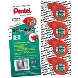 Pentel 0100819 10m Rosso nastro di correzione