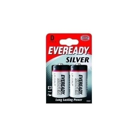 Energizer Eveready Silver D 2 pk Zinco Carbonio 1.5V batteria non ricaricabile 621070