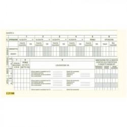 Edipro E2115NE 23pagine modulo e libro contabile