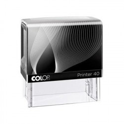 Colop Printer 40 23 x 59mm Nero timbro PR40G7.N