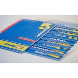 Rambloc Ricambi A4 210 x 297 mm A4 40fogli ricambi per quaderni 90505182S
