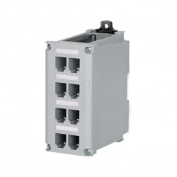 Panduit PATCH PANEL 8 PORTE RAME TIPO MINI