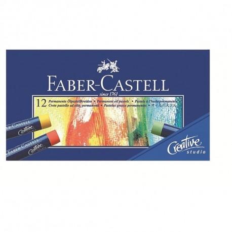 Faber Castell CF12 OIL PASTELS COL. ASS