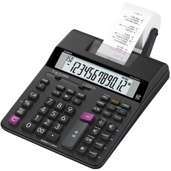 Casio HR 200RCE Scrivania Calcolatrice con stampa Nero calcolatrice HR 200RCE WA