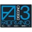 Fabriano 04001017 330x240 mm Nero carta inkjet