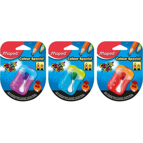 Maped 043110 Manual pencil sharpener Multicolore temperino