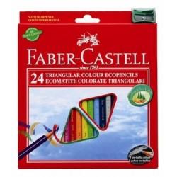 Faber Castell 120524 24pezzoi pastello colorato