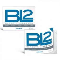 Blasetti BL2 Aspro 20fogli carta da disegno 6166