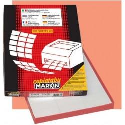 Markin 210A408 Bianco etichetta per stampante