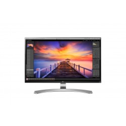 LG 27UD88 W 27 4K Ultra HD IPS Opaco Piatto Nero, Bianco monitor piatto per PC LED display
