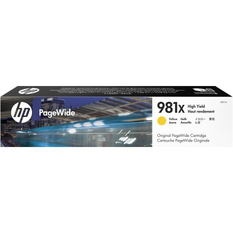 HP Cartuccia giallo originale ad alta capacit 981X PageWide L0R11A