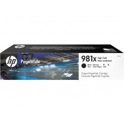 HP Cartuccia nero originale ad alta capacit 981X PageWide L0R12A