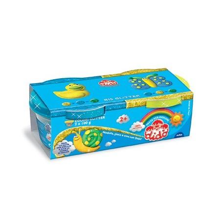 FILA 396701 Pasta modellabile Blu, Giallo composto per ceramica e modellazione