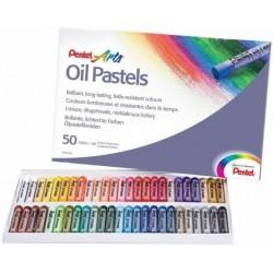 Pentel 0100526 Oil pastel Multicolore 50pezzoi pastello