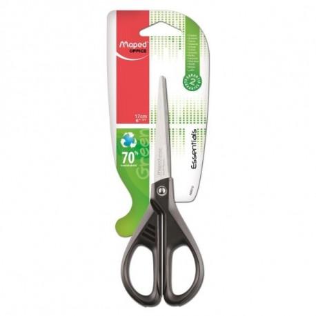 Maped Essential Green Forbici da ufficio Taglio a zig zag Nero, Acciaio inossidabile 468010