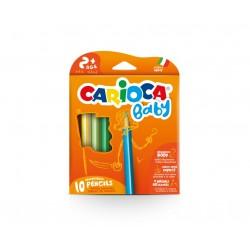 Carioca Baby Pencil Multi 10pezzoi pastello colorato 42819