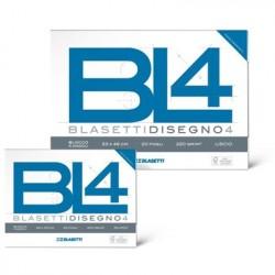 Blasetti BL4 Liscio 20fogli carta da disegno 6177