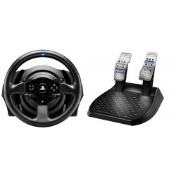 Thrustmaster T300RS Sterzo Pedali PC, Playstation 3, PlayStation 4 Nero 4160604