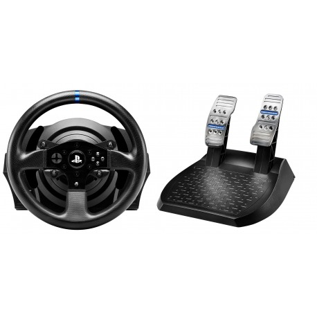 Image of Thrustmaster T300RS Sterzo + Pedali PC, Playstation 3, PlayStation 4 Nero 4160604