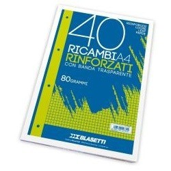 Blasetti 2339 A4 80gm 40fogli carta milllimetrata