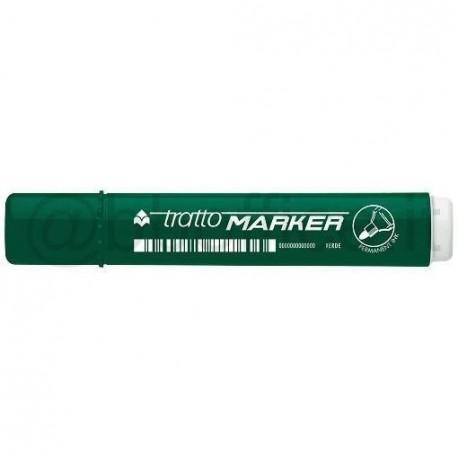 Tratto Marker Tipo di punta Verde 12pezzoi marcatore permanente 841104
